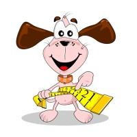 Pes si měří břicho